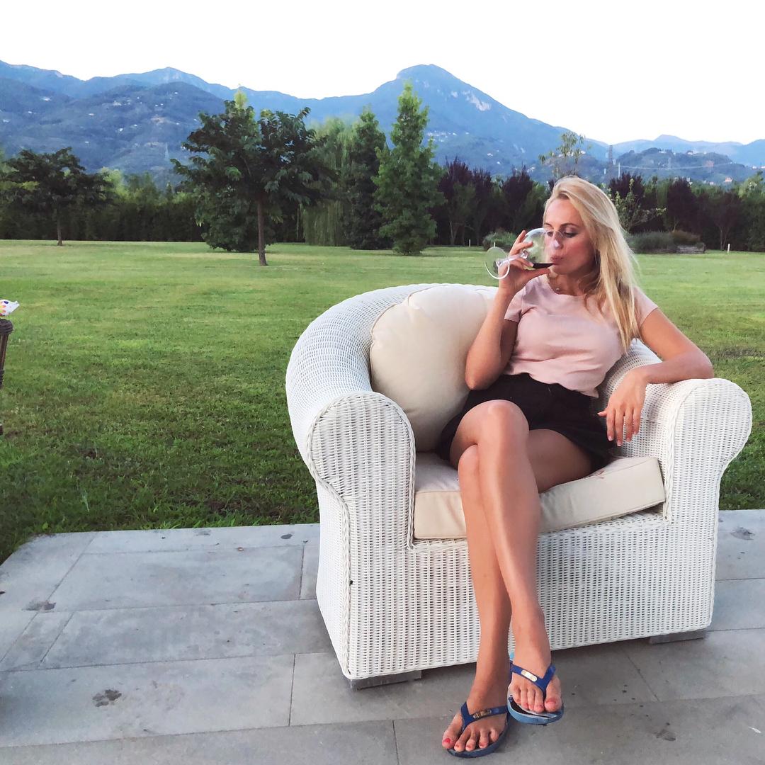 Янина Студилина: Летними Тосканскими вечерами   #барбекю #шашлыки #любовь #приятныйвечер #италия #тоскана