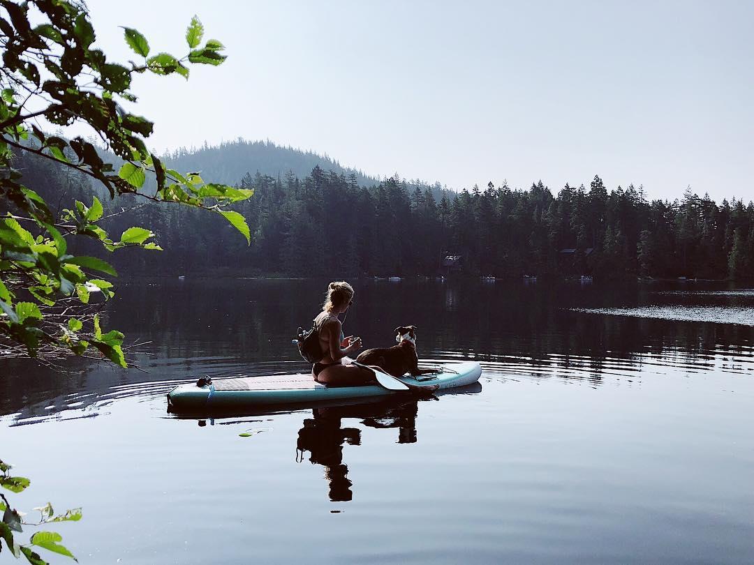 Эмили Бетт Рикардс: Morning paddles  - @t3athletics