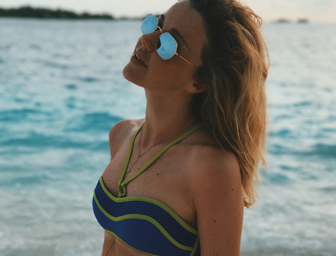 Юлианна Караулова: GM, sunshine! Be with me all day    #StayInspired #ConradMaldives