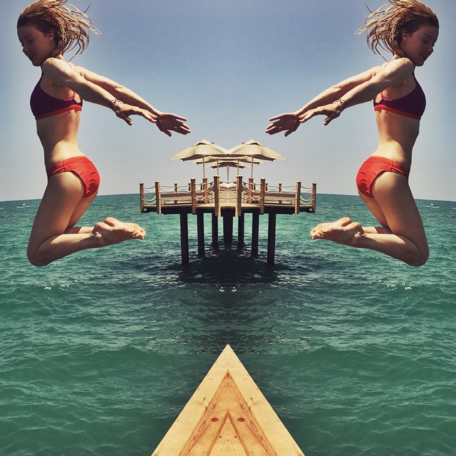Юлианна Караулова: Jump,Yulia,Jump   #roxyrussia #boardridersmoscow @roxy_russia