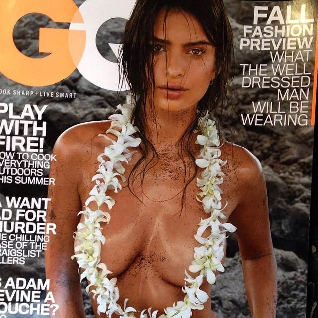 Эмили Ратаковски: Another, closer look at my cover! To see more check at @gq on stands today