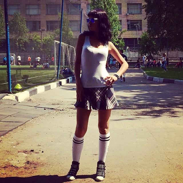 Юлия Захарова: Спортом качаться - гимнастикой бегать.