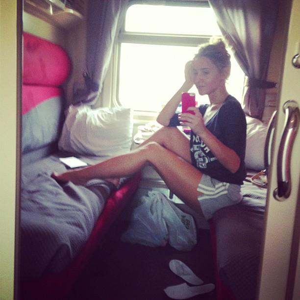 Юлия Ковальчук: #поезднаяромантика)#juliakovalchuk