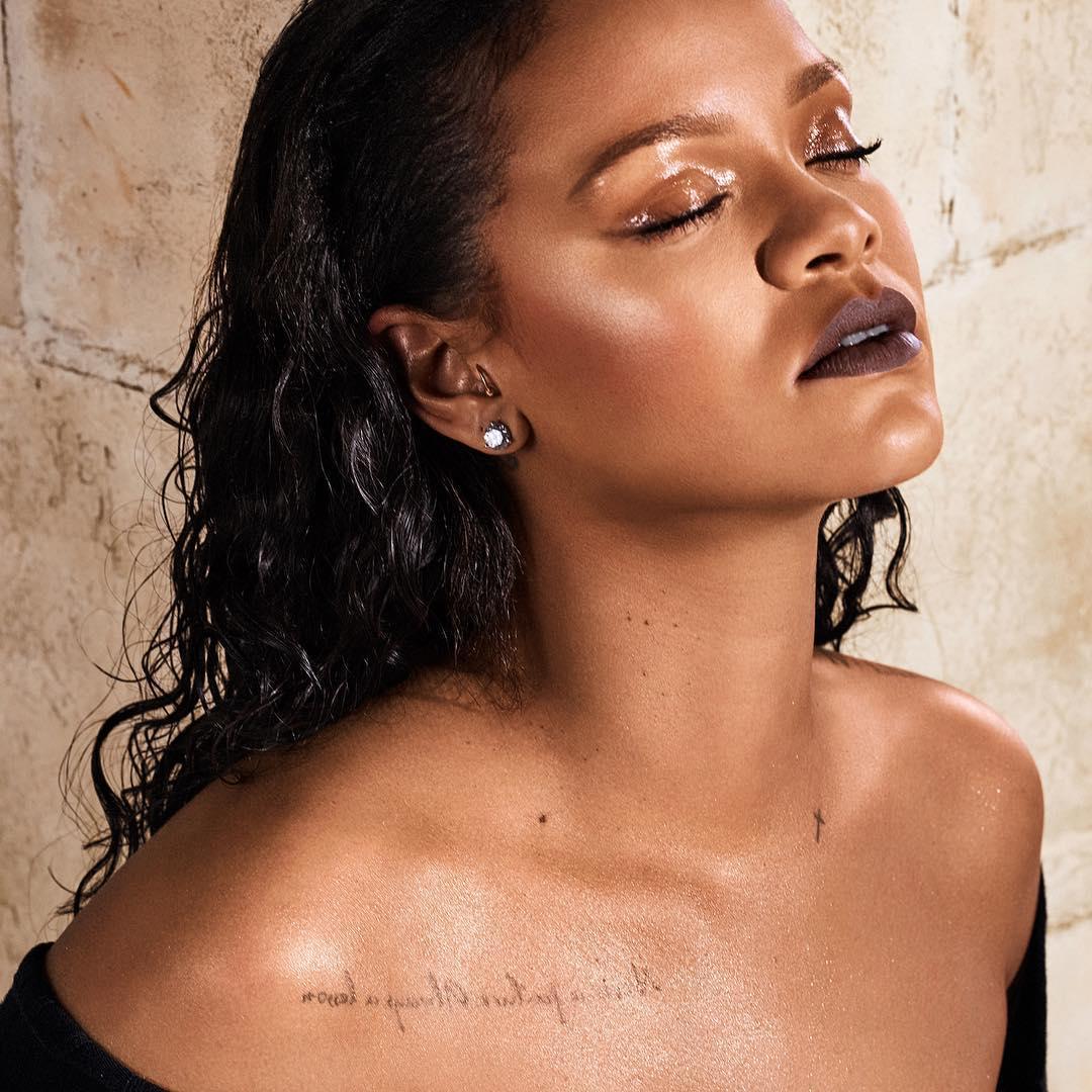Рианна: #iQuit @fentybeauty Dec. 26