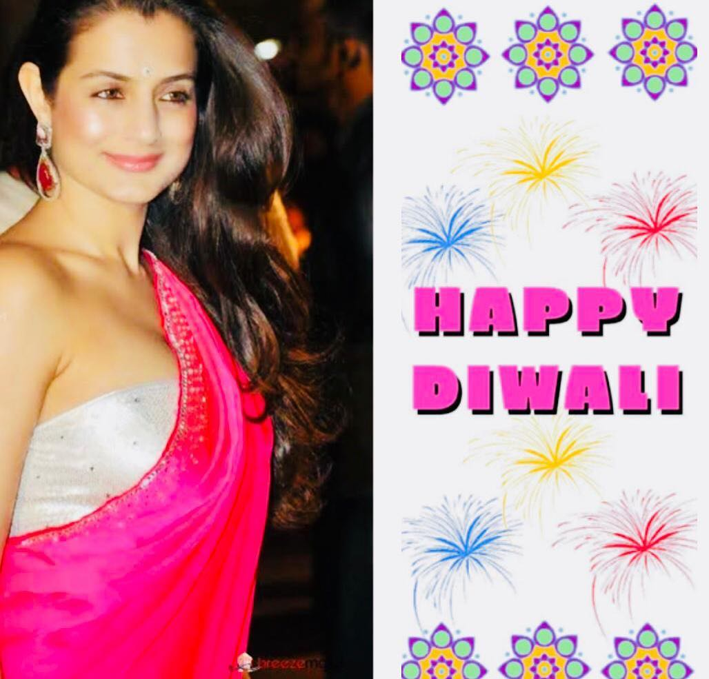 Амиша Патель: Happppyyy Diwali