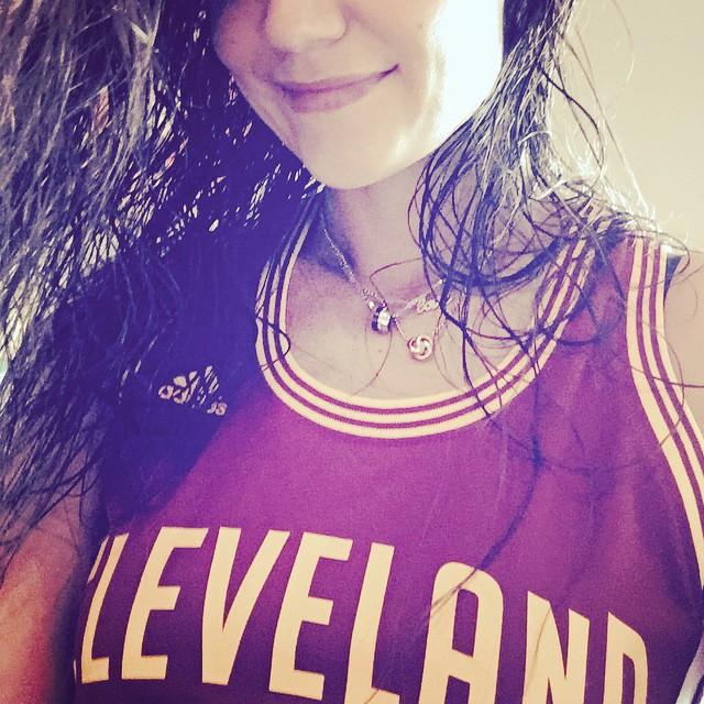 Кэти Холмс: Go Cleveland!!!!!!!! @cavs #ohiogirl