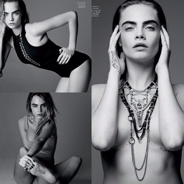 Кара Делевинь: More from @thelovemagazine