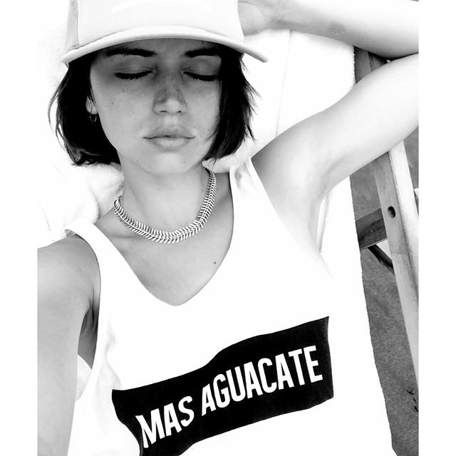 Ана де Армас: Empiezo a pedir deseos para el a?o que viene.... #masaguacate