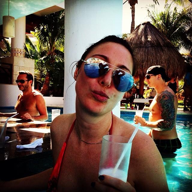 Полина Гриффис: Finally a sunny day!!!!
