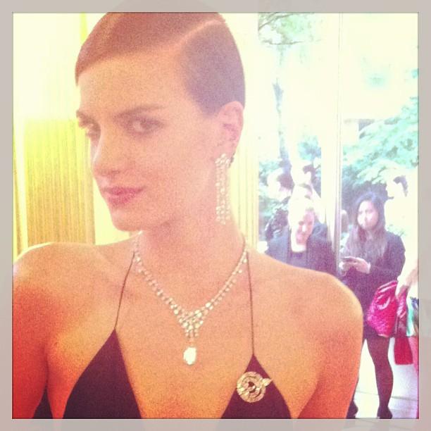 Эвелина Хромченко: #bulgary #party #hc #fashionweek #paris