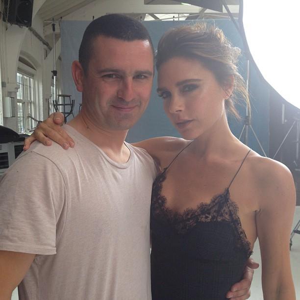 Виктория Бекхэм: Fun day shooting with Boo George in London x vb