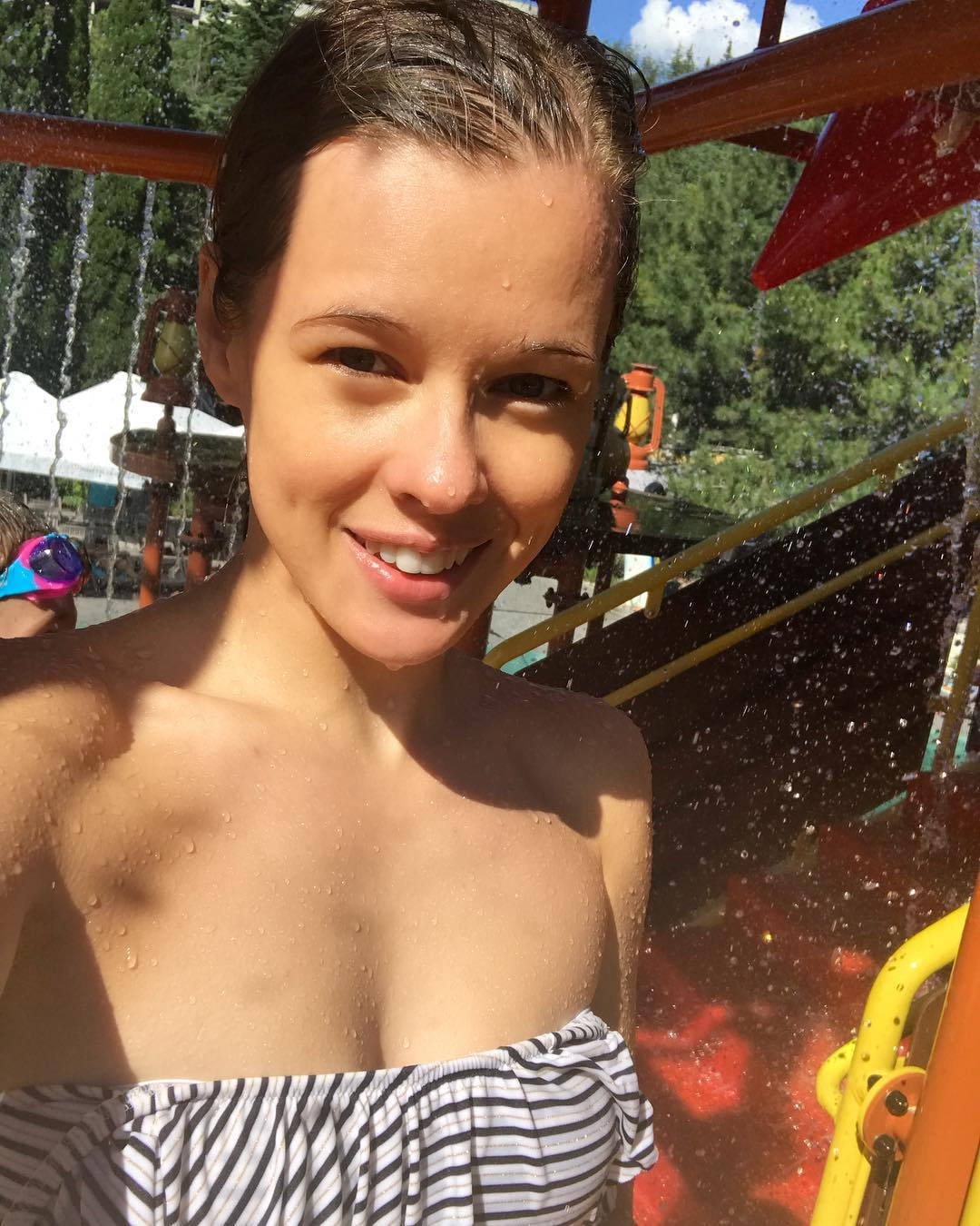 Екатерина Шпица: А потом был аквапааааааарк