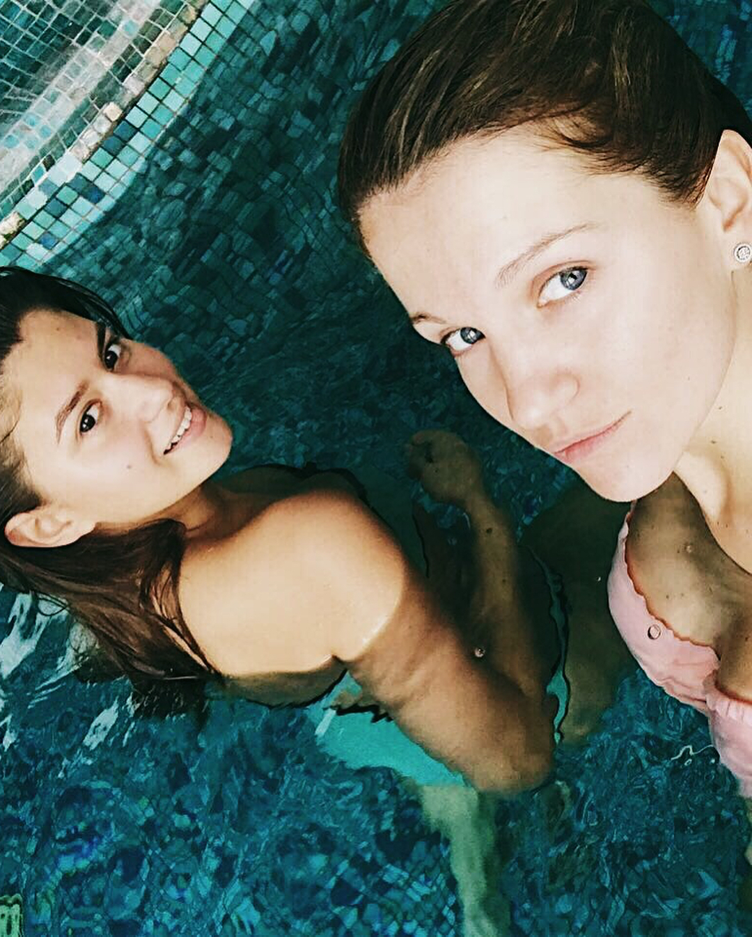 Женя Малахова: My #birthday girl, #my #shampagne partner,  @sofiabits, be happy, #mylove