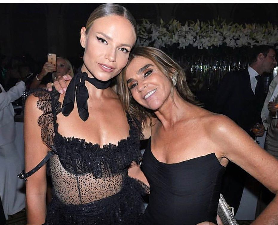 Наташа Поли: Dear @carineroitfeld  Wishing You The Happiest Birthday, Full Of Love!!!   Thankful To You For Ever