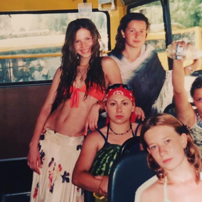 Лукерья Ильяшенко: Мммм-да... кто-то, пожалуй, был чрезвычайно тощ и спортивен подростком...