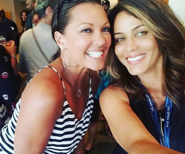 Ванесса Уильямс: Look who I ran into in the President's Box at the #USOpen! @NicoleAriParker and I both filmed Soul Food — I did the movie, she did the TV series. #SoulFoodSisters