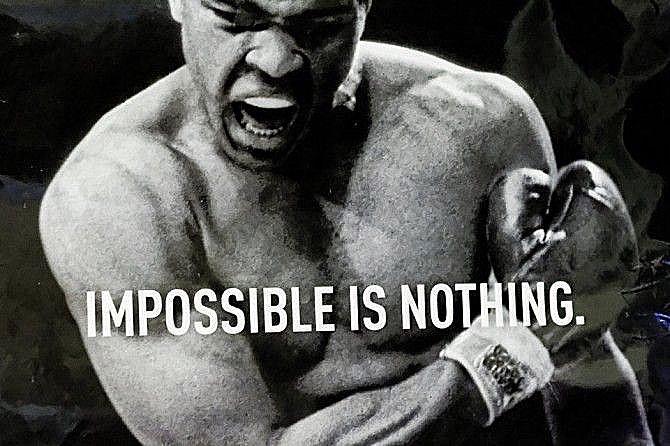 Катрин Асси: Legends never die. #RIP Muhammad Ali