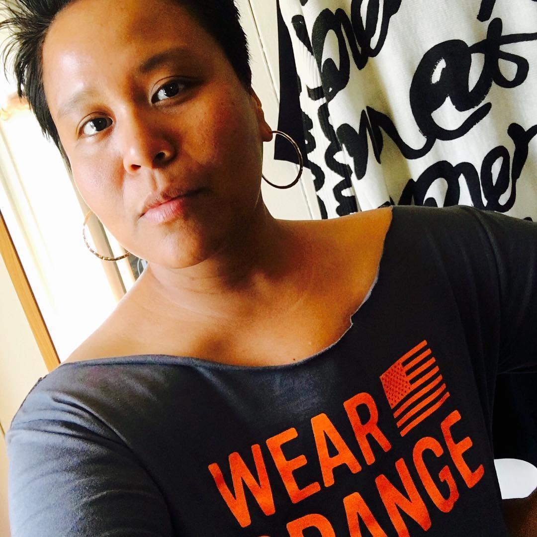 Эми Шумер: My girl Cynthia #wearorange