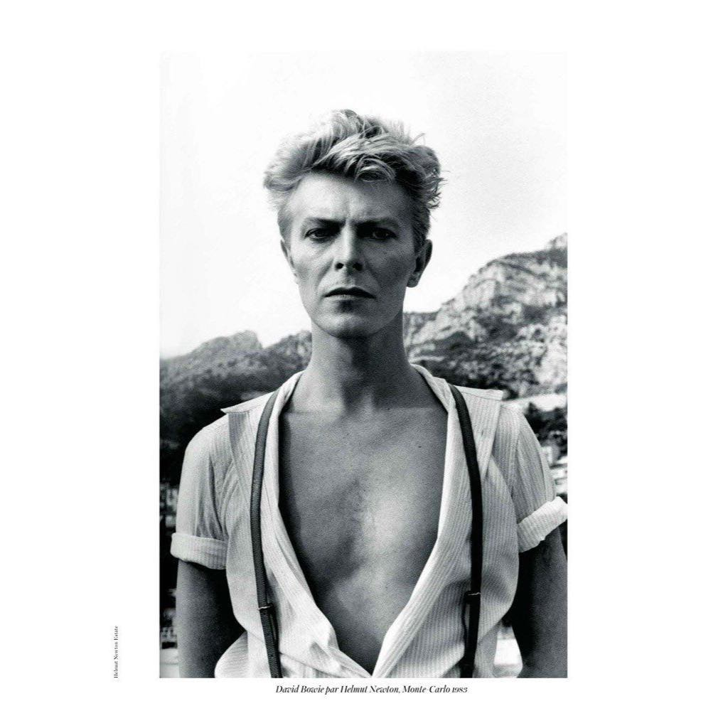 """Кейт Босуорт: David Bowie by Helmut Newton, 1983.I was born in January, 1983. One of my first memories was hearing """"Let's Dance"""" (which was released in April of 1983). My parents would play this record & swing me around the room, much to my delight. I k..."""