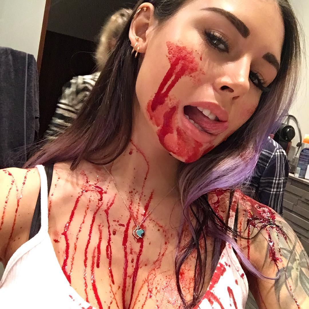Диана Мелисон: Много крови, режиссёр доволен, едем домой #movie #dislike  Снято