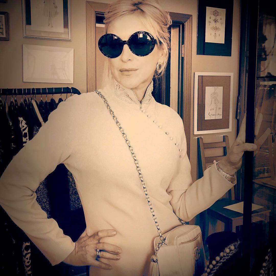 Ирина Гринева: #vintage #Dior #dress 1975 #Grineva #таинственнаясвязь #выборкостюма # В итоге снималась совсем в другом образе:)