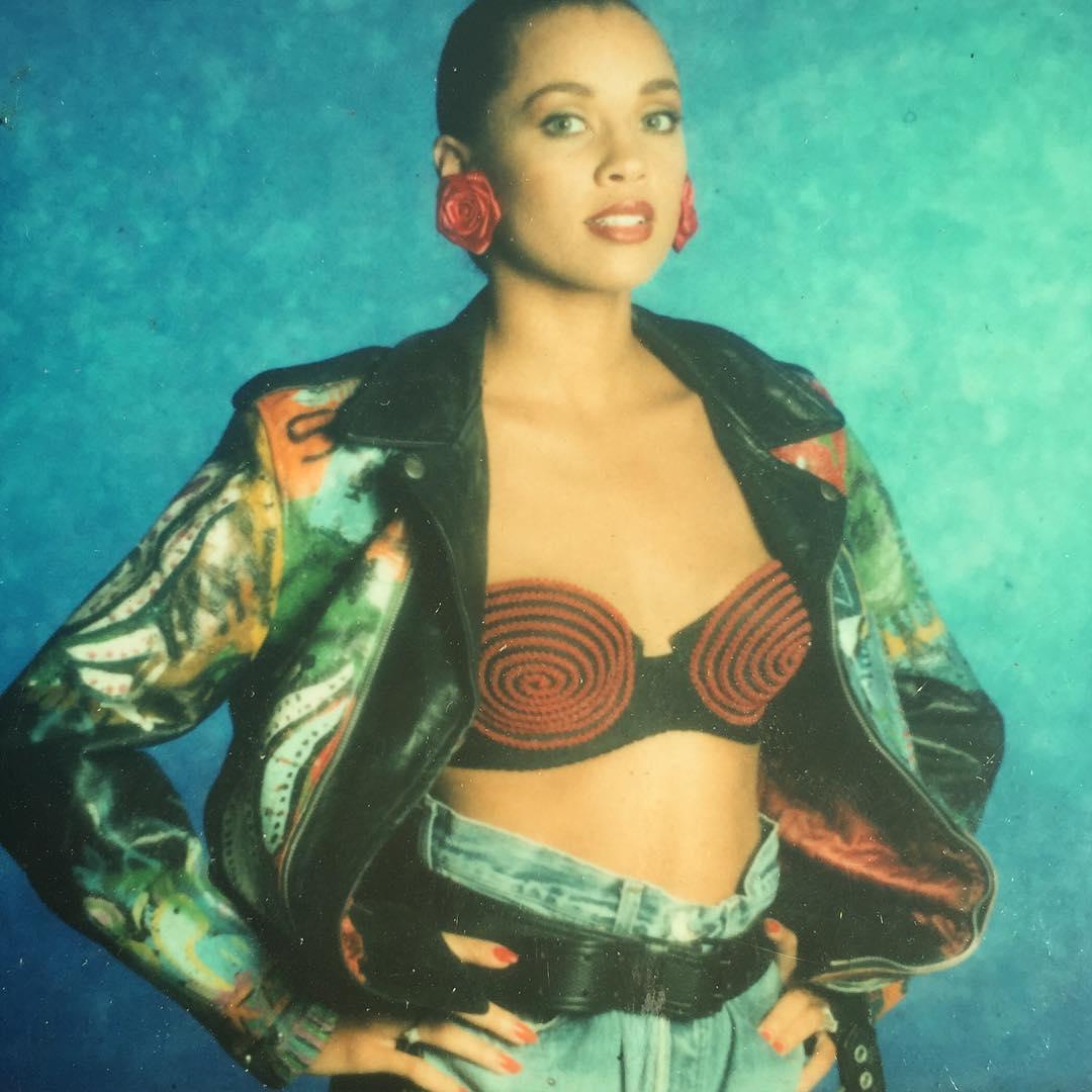 Ванесса Уильямс: #tbt #hesgotthelook #shoot Love the '80s! #therightstuff